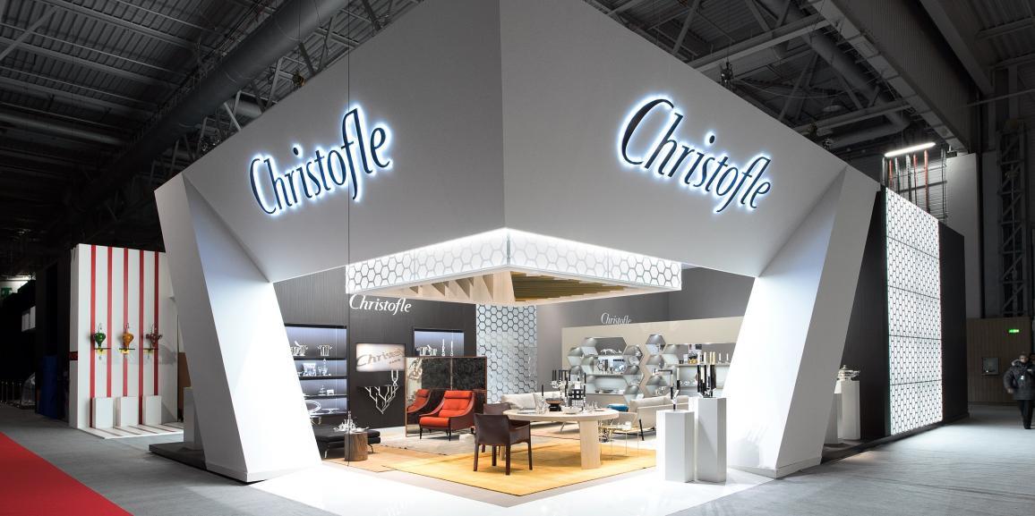 Stand Christofle – Salon Maison et Objet 2014