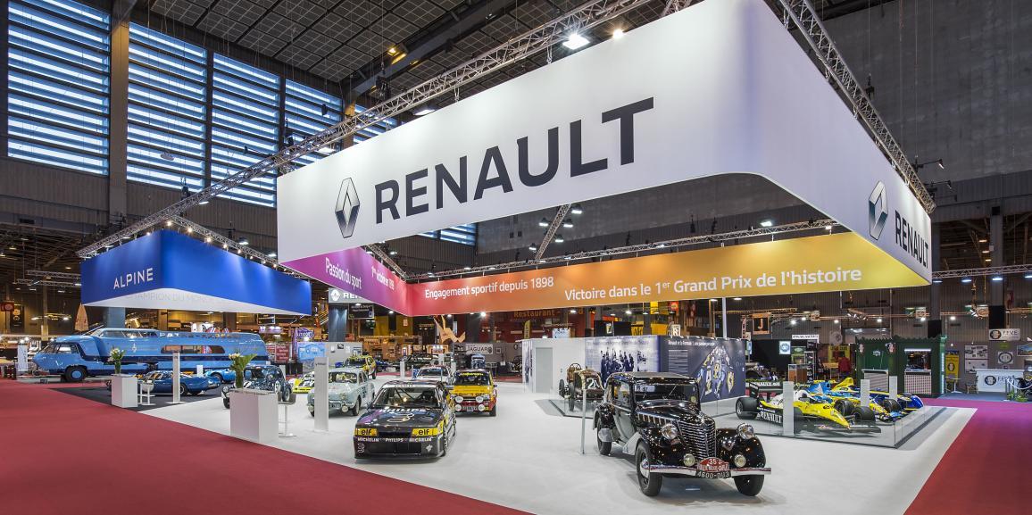 Stand Renault – Rétromobile – 2016