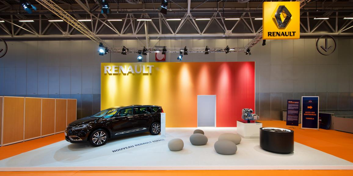 Stand Renault – Salon des taxis – 2015