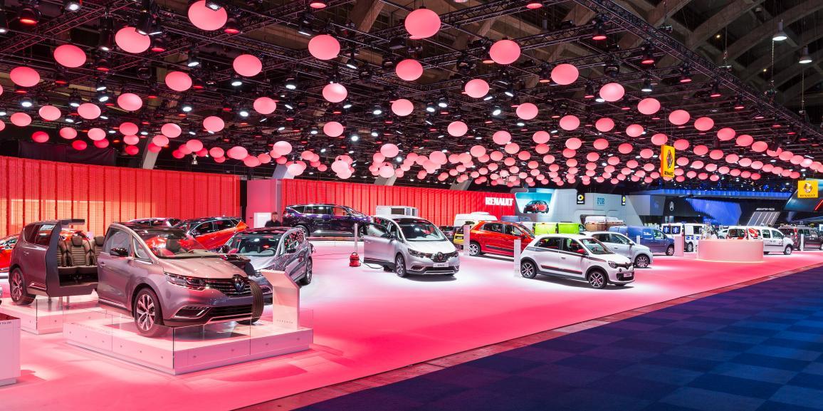 Stand Renault – Salon de l'Automobile Bruxelles – 2015