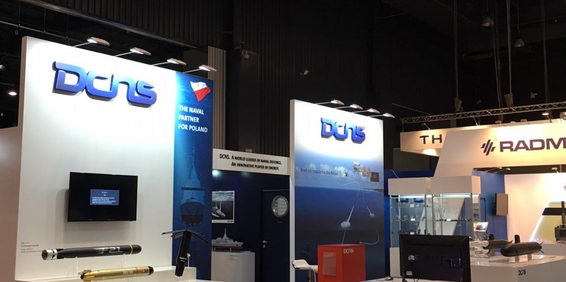 Stand DCNS – Balt Military Expo – 2016