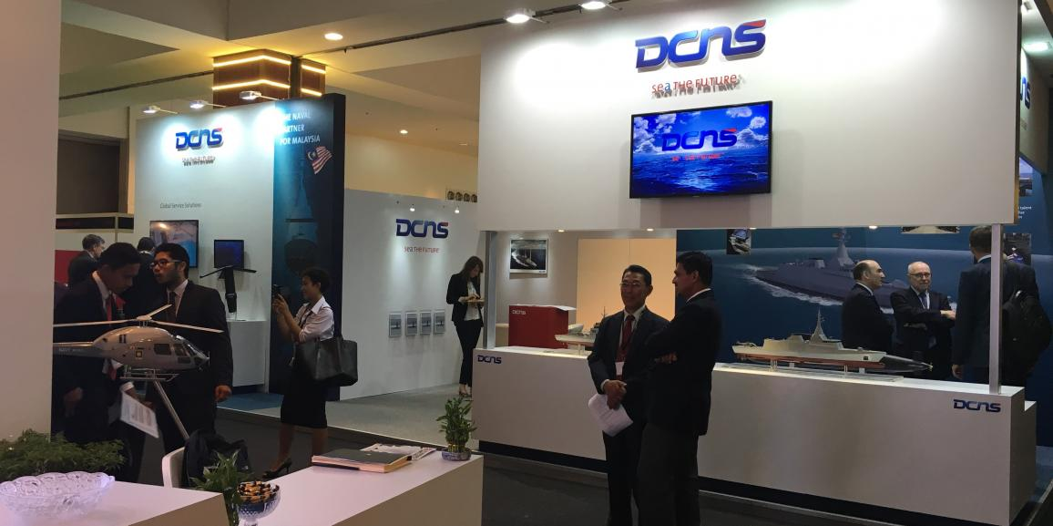 Stand DCNS – Defence Services Asia (DSA) – 2016
