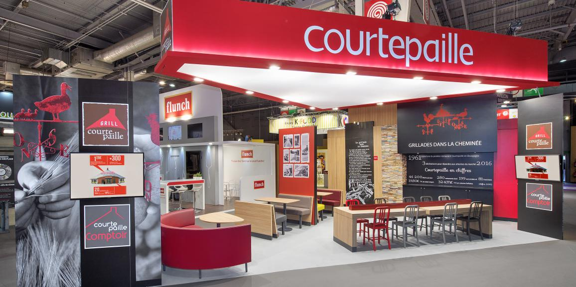 Stand Courtepaille – Salon de la Franchise – 2016