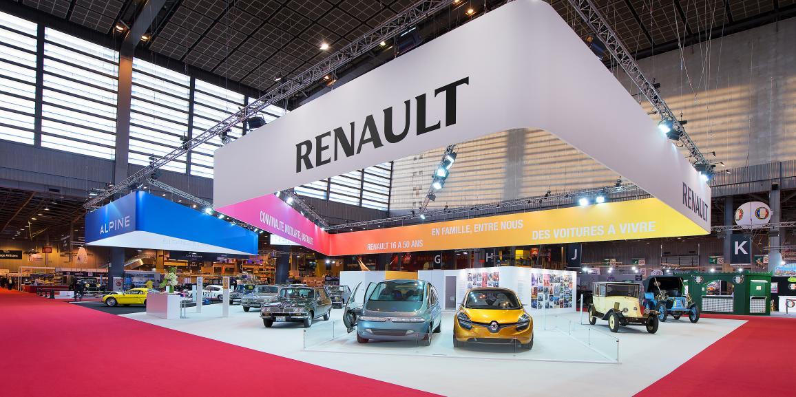 Stand Renault – Rétromobile – 2015