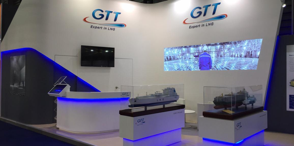 Stand GTT – Marintec – 2015