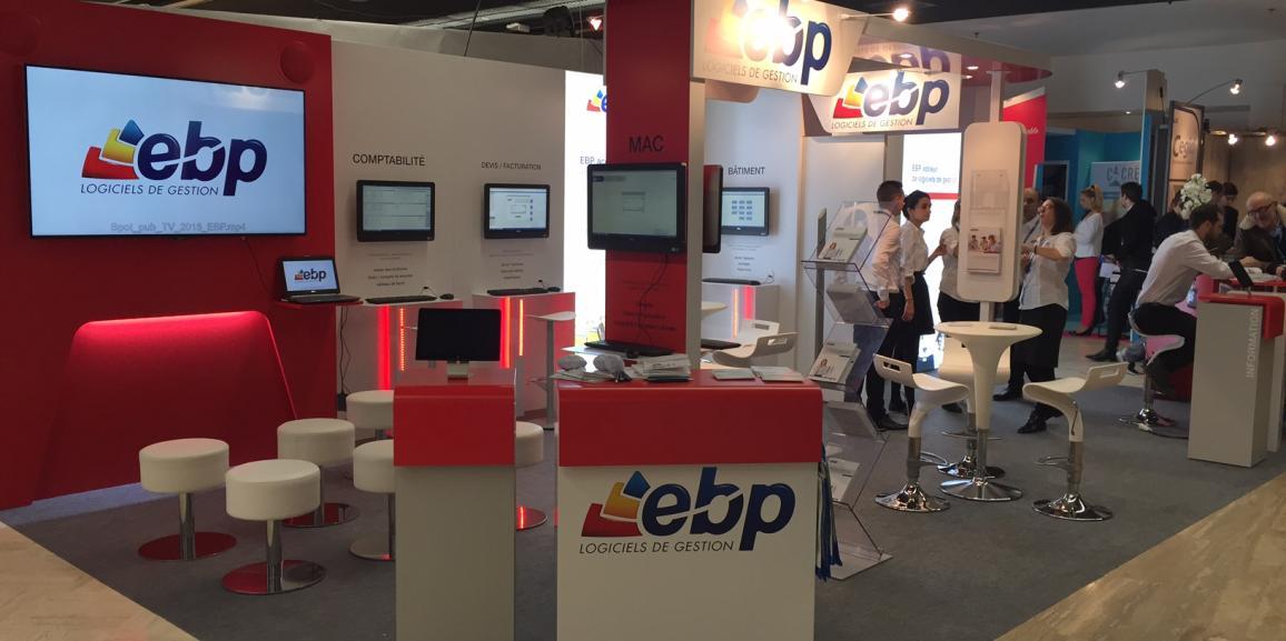 Stand EBP – Salon des Entrepreneurs – 2016