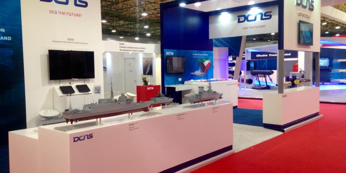 Stand DCNS – Gulf Defense & Aerospace – 2015