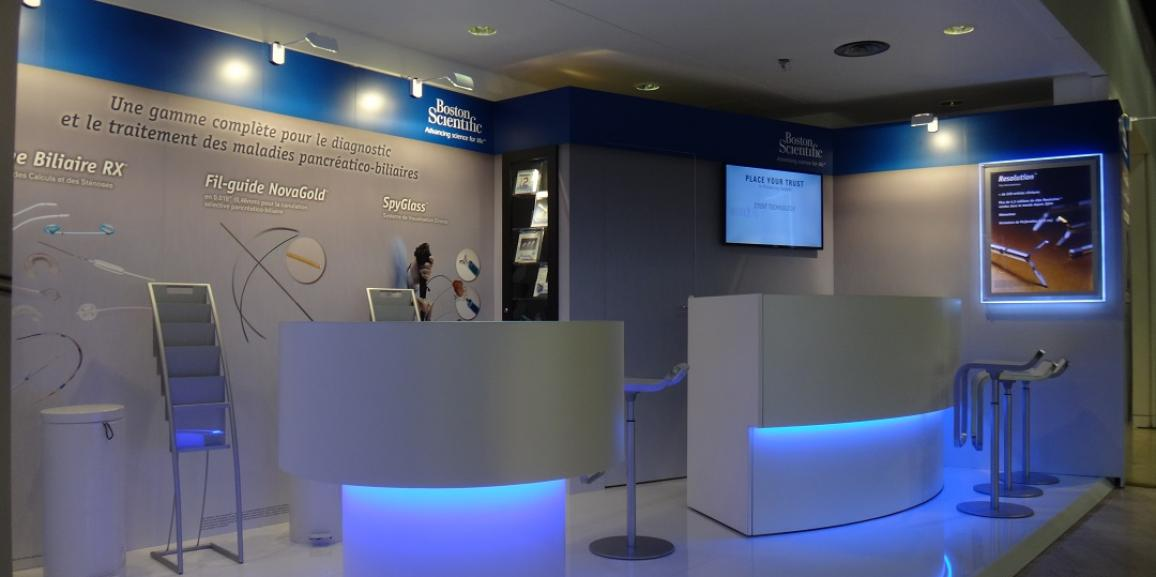 Stand Boston Scientific – Congrès JFHOD