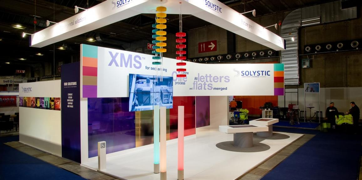 Stand solystic salon postexpo centthor for Salon stand