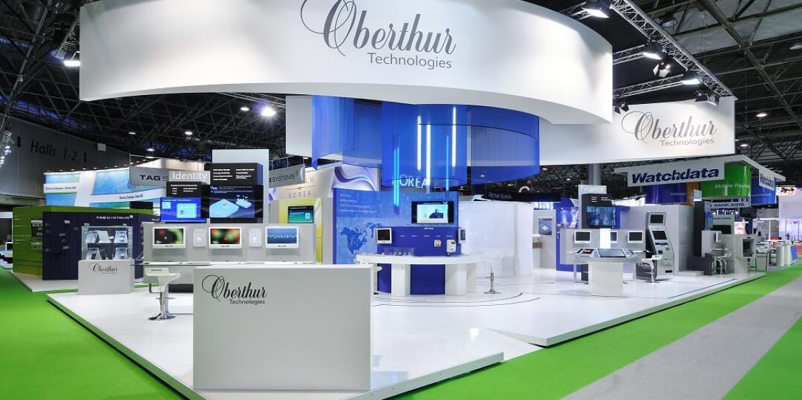 Stand Oberthur Technologie – Salon CARTES