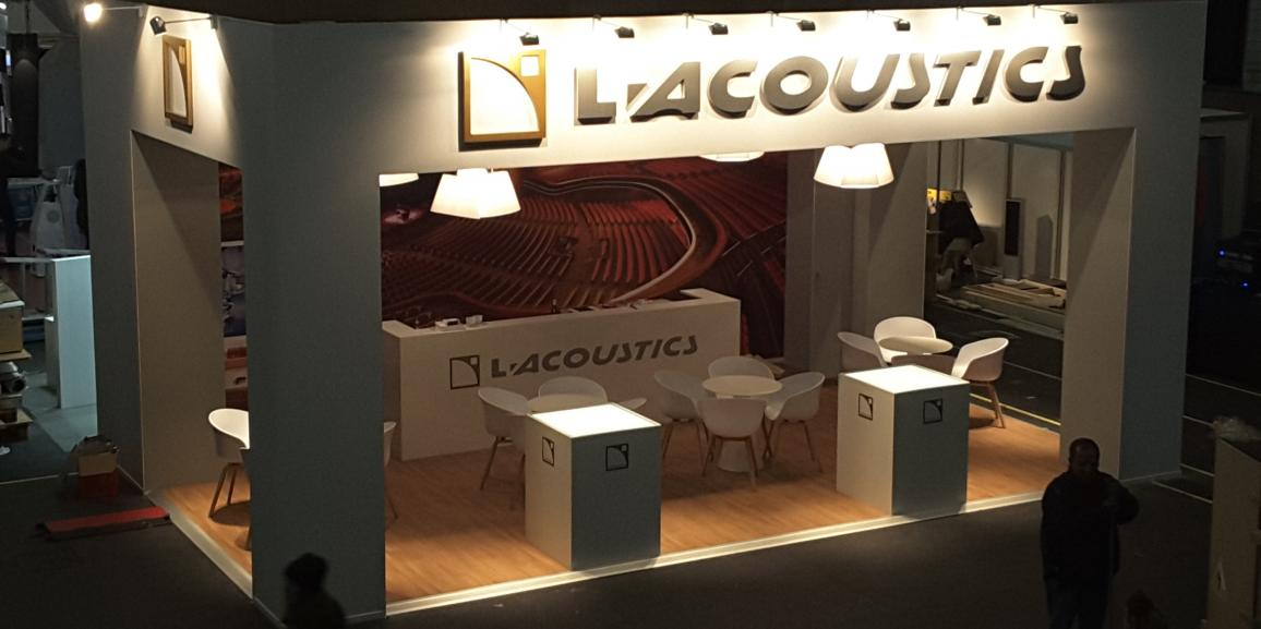 Stand L-Acoustics – ISE – 2016