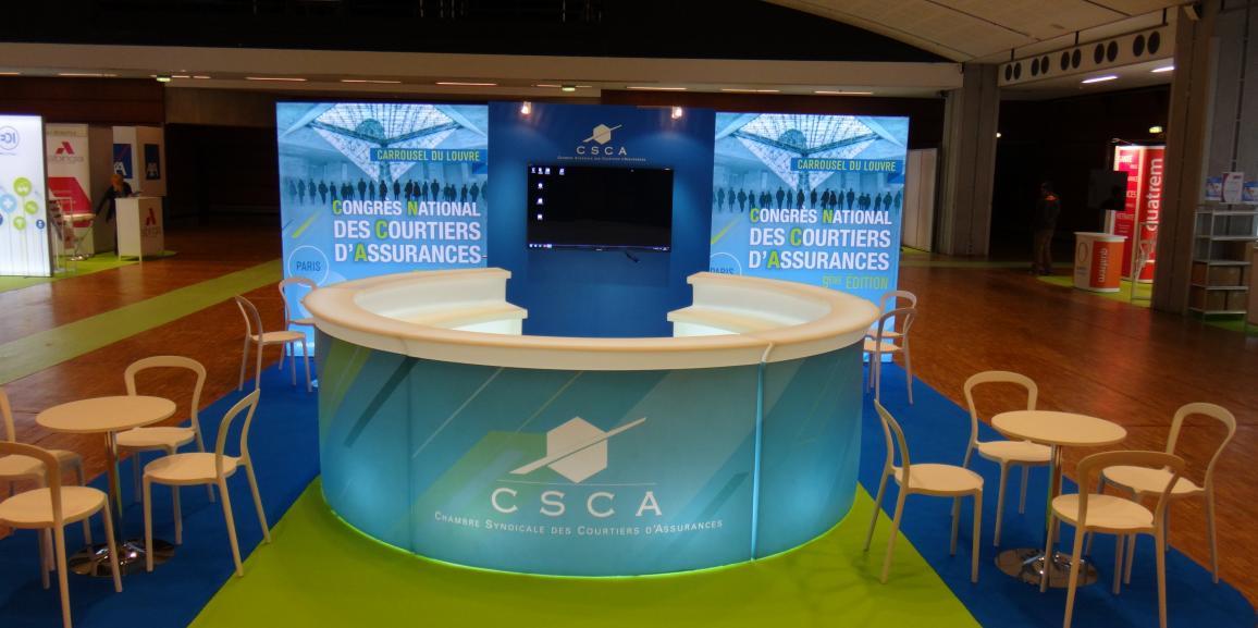 Installation générale Chambre Syndicale des Courtiers d'Assurance – 2015