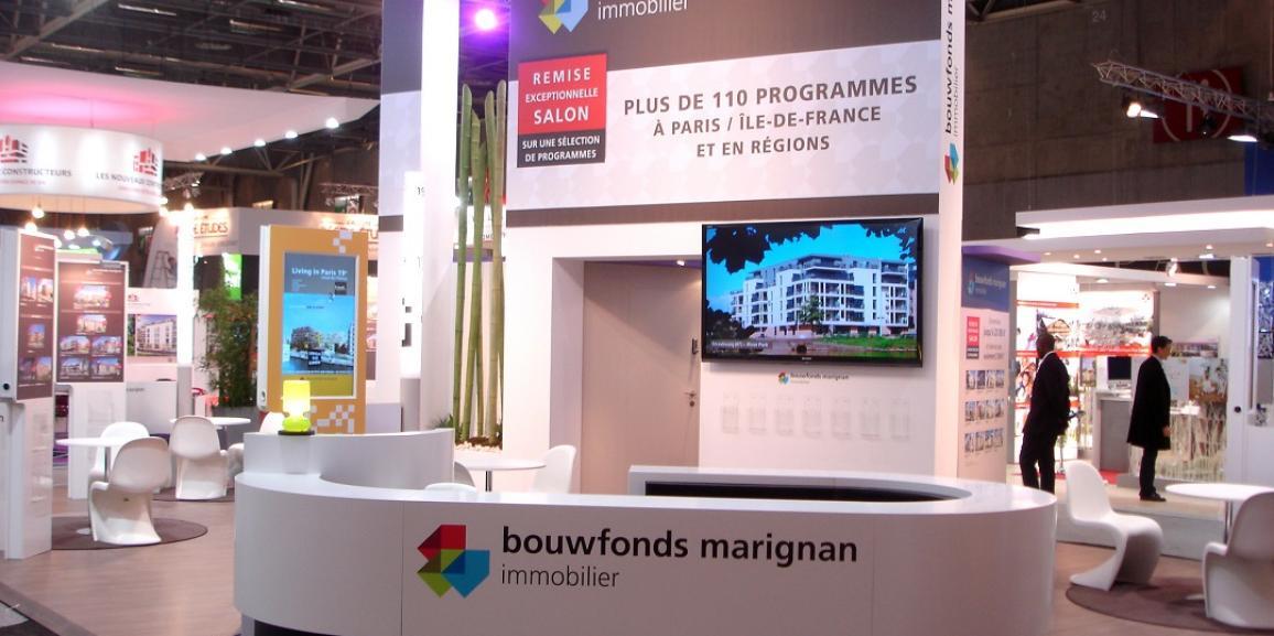 Stand Bouwfonds Marignan – SIMI 2013