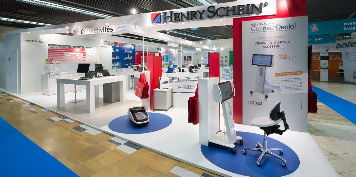 Stand henry schein congr s adf centthor for Stand de salon