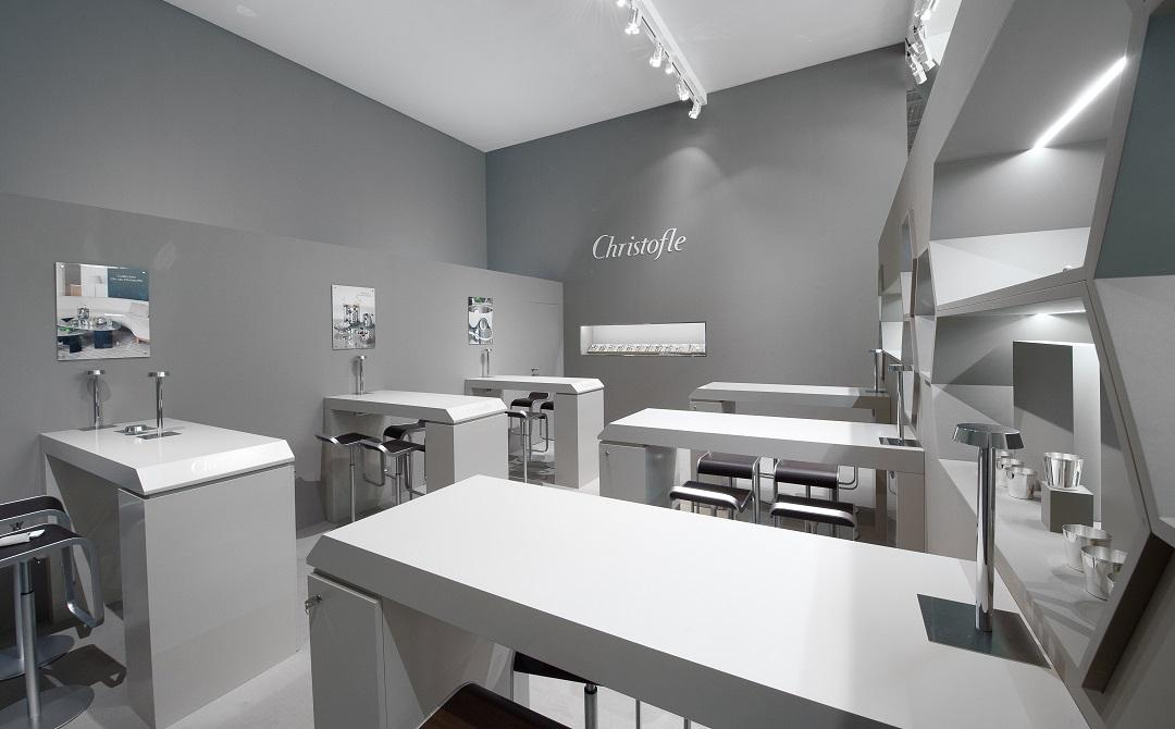 Stand christofle salon maison et objet 2014 centthor - Maison et objet 2014 ...