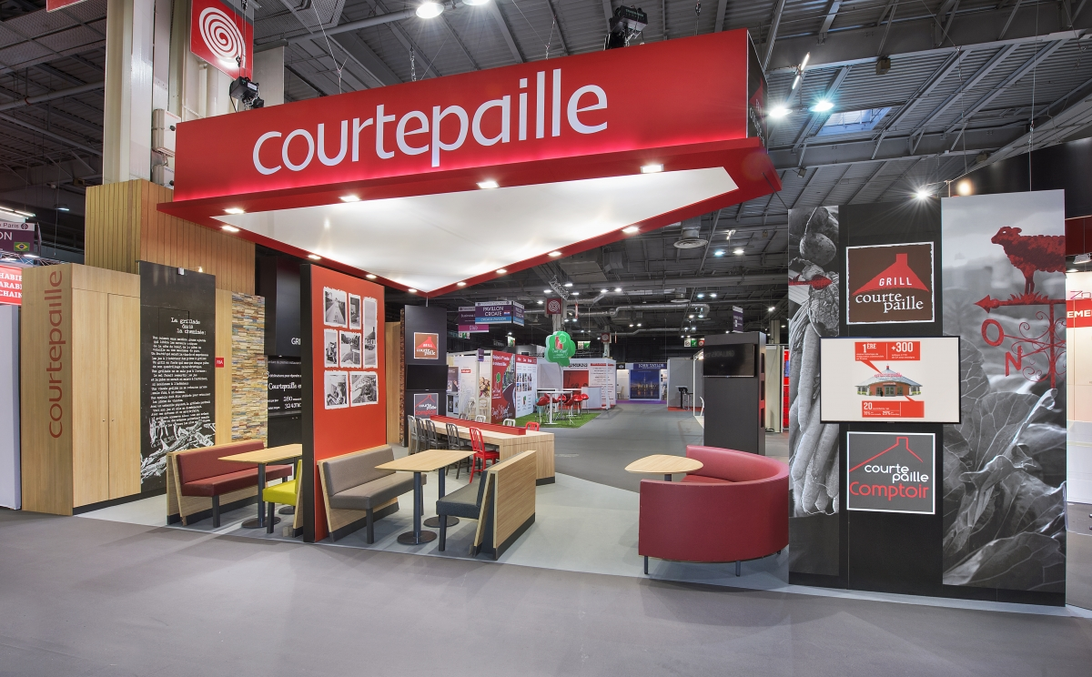 Stand courtepaille salon de la franchise 2016 centthor - Salon de la franchise date ...