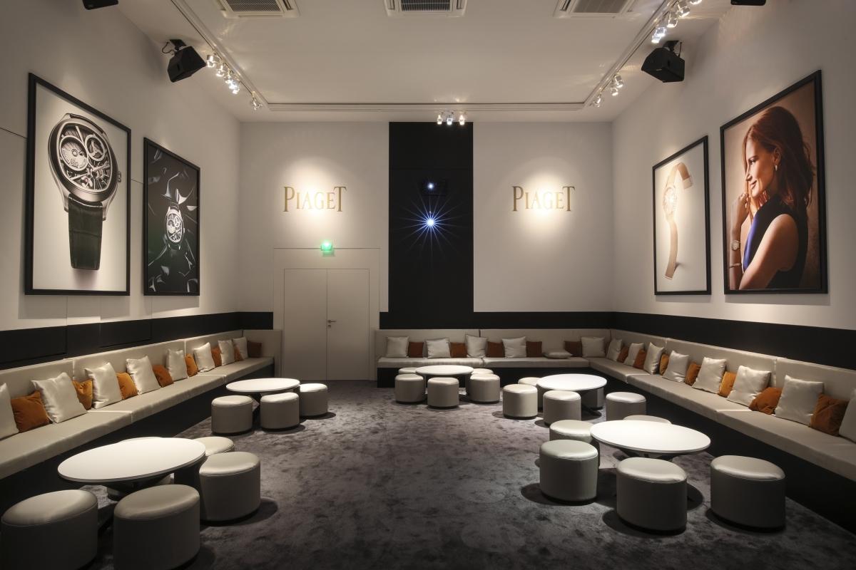 Stand piaget salon international de la haute horlogerie - Salon international de la haute horlogerie ...