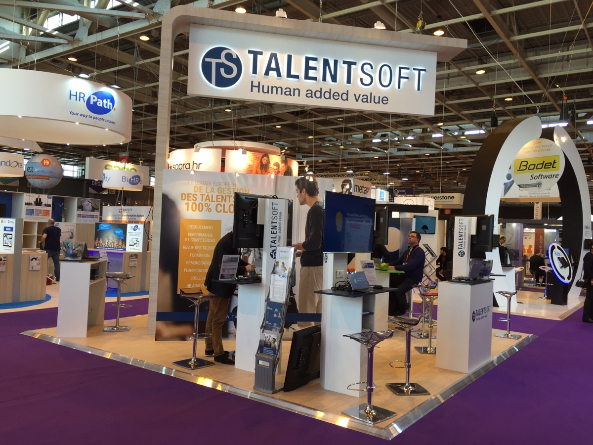 Stand talentsoft salon solutions ressources humaines for Salon solutions