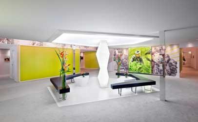 Design et mobilier du stand de salon