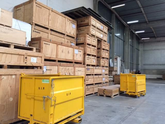 Logistique, stockage et réutilisation : L'après-salon…