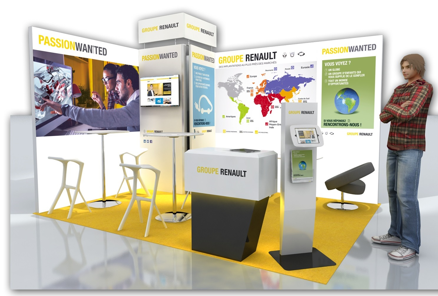 Stand groupe Renault