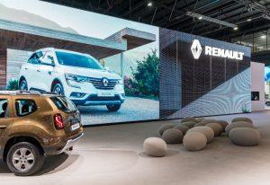 Stand Renaut salon Automobile Buenos Aires