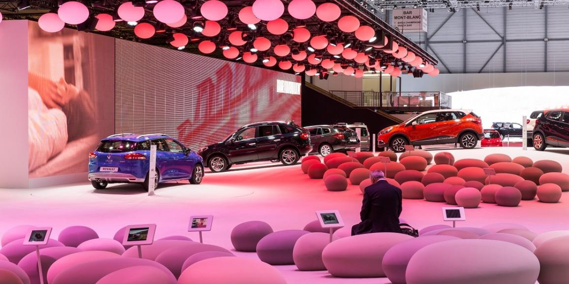 Stand Renault – International Motor Show – Genève
