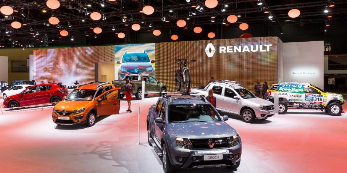 Stand Renault – Salon de l'automobile de Buenos Aires – 2015
