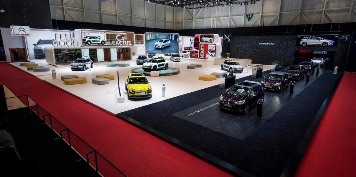 Stand Citroën -Salon de l'Auto à Genève 2014