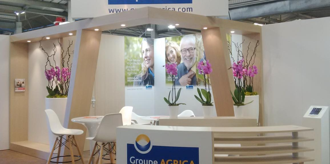 Stand Groupe Agrica – Sitevi – 2015