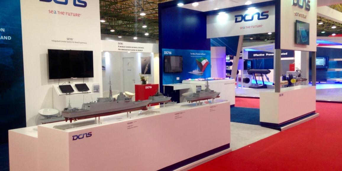 Stand DCNS – Gulf Defense & Aerospace – 2015