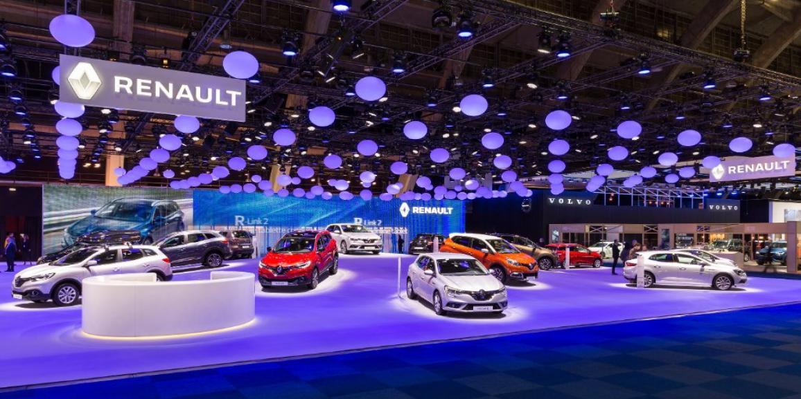 Stand Renault – Salon de l'Auto Bruxelles – 2016