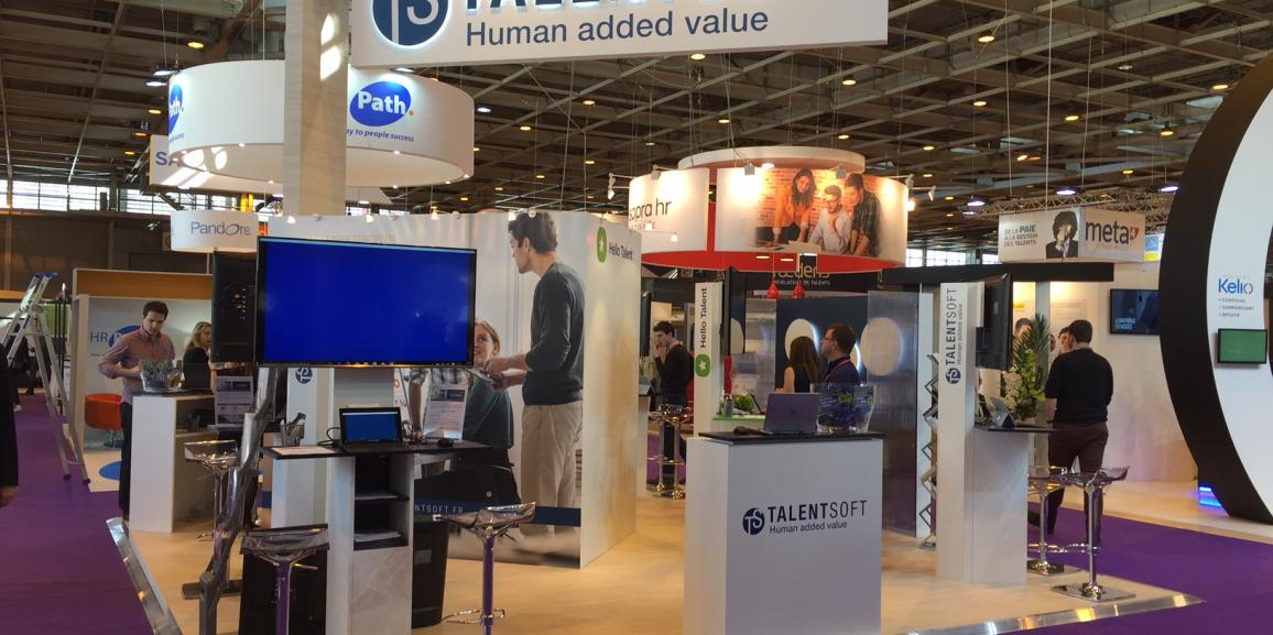 Stand Talentsoft – Salon Solutions Ressources Humaines – 2016