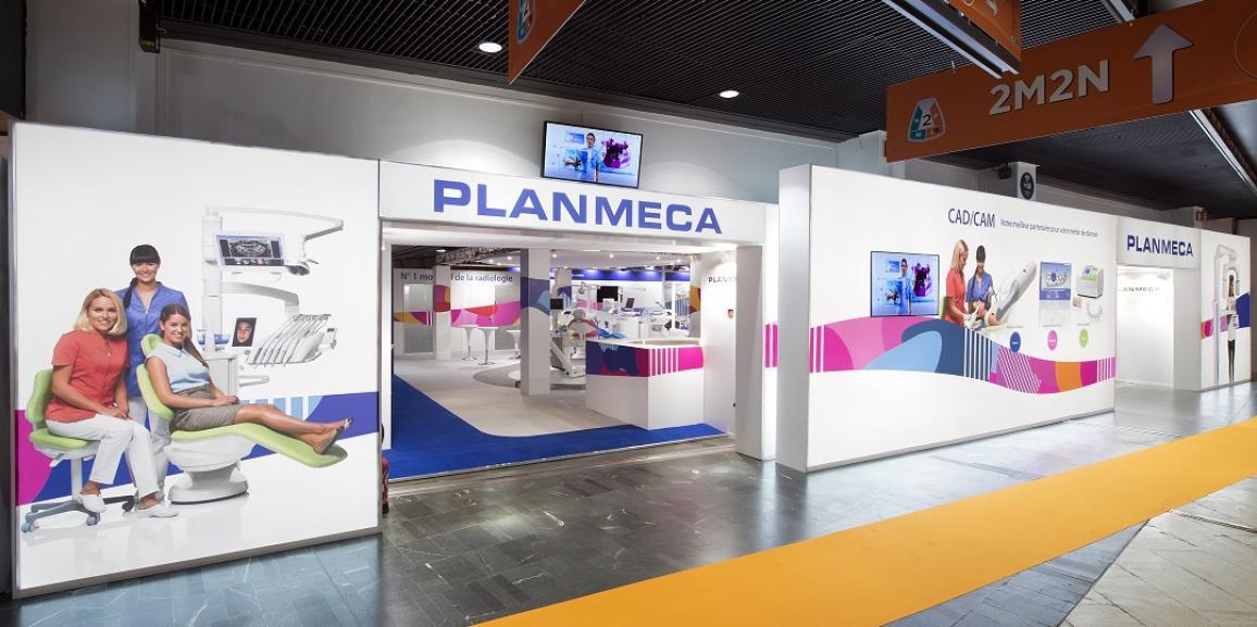 Stand Planmeca – Congrès ADF