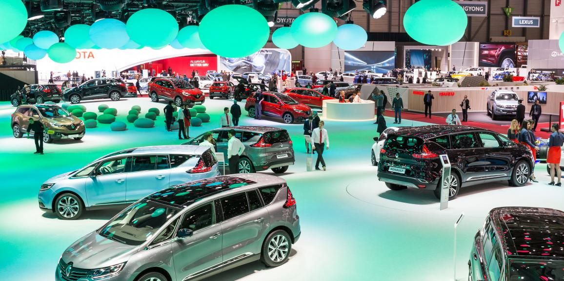 Stand Renault – International Motor Show Genève – 2015