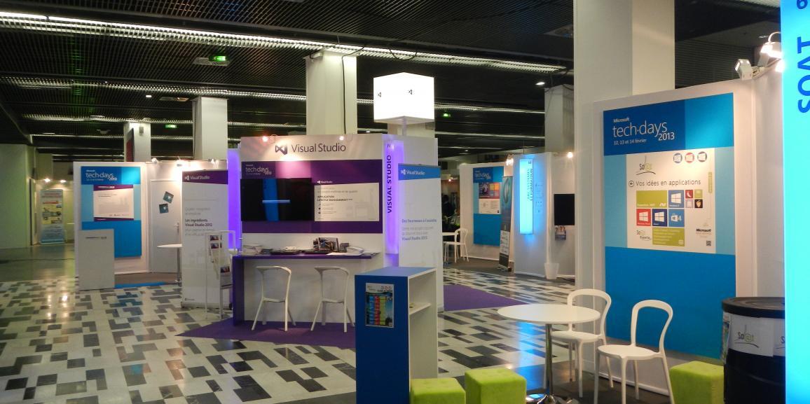 Installation générale Microsoft techdays.