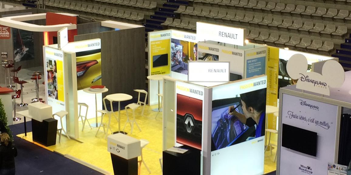 Stand Renault – Challenge du Monde des Grandes Ecoles et Universités