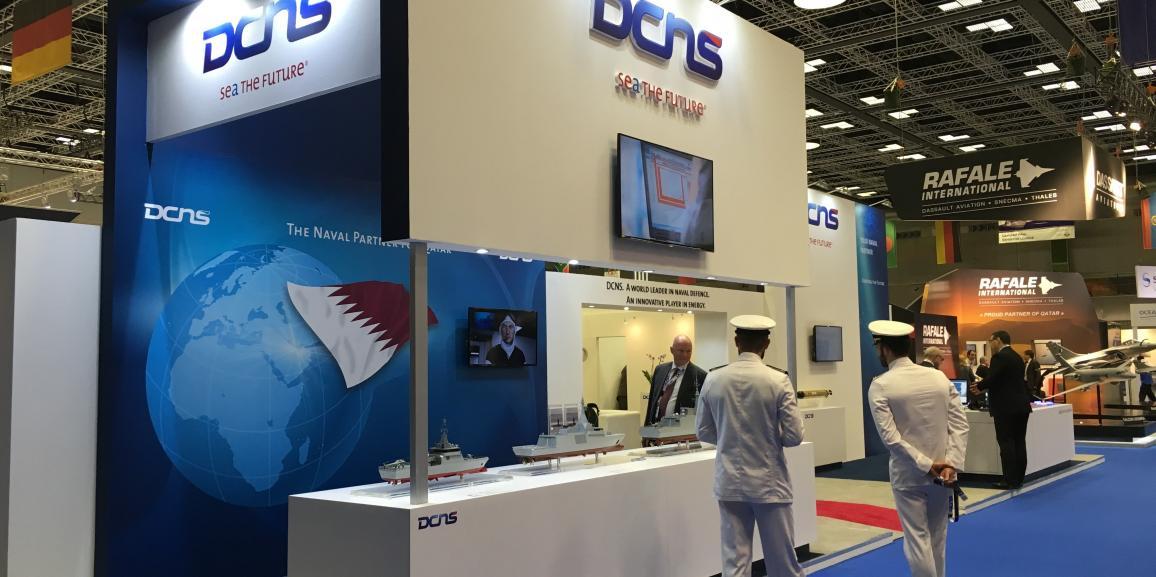 Stand DCNS – Dimdex Qatar – 2016