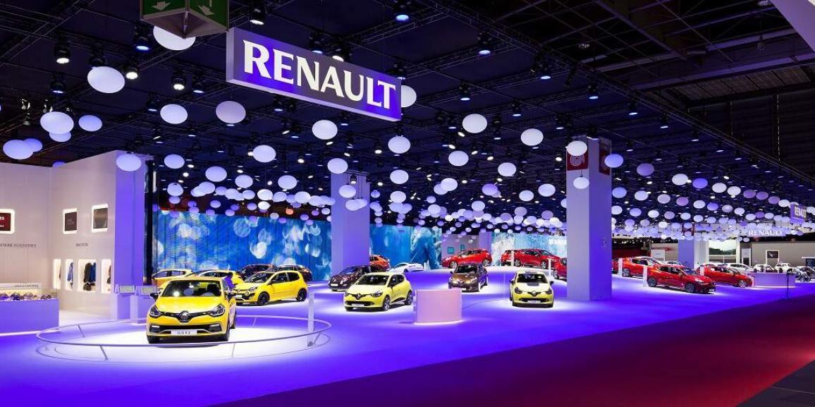 Stand Renault -Mondial de l'Auto – Paris