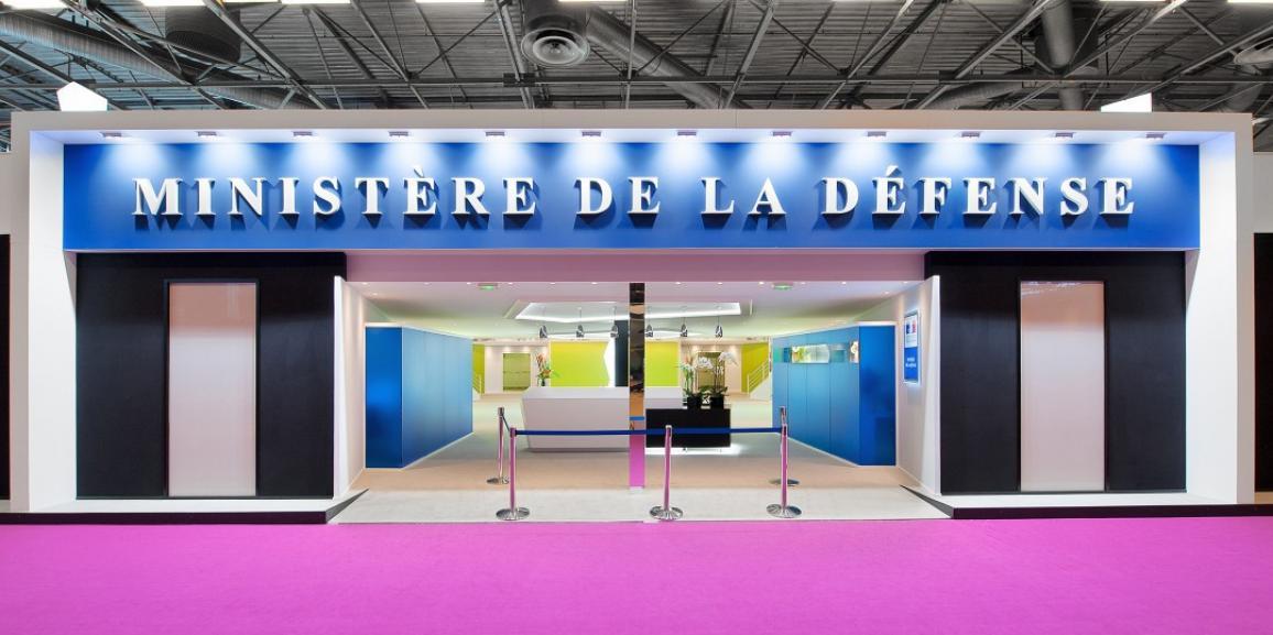 Stand Ministère de la Défense – Salon Eurosatory